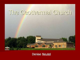 Link to the presentation by Denise Neutel on the geothermal church