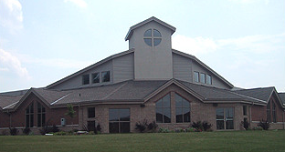 Photo of the exterior of the Meadowlands Fellowship Christian Reformed Church